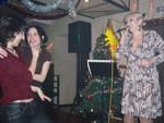 Светлана Астахова на концерте Дианы Теркуловой. 19.12. 2008 г.