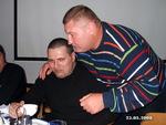"Александр Звинцов и владелец комплекса ""ТаймАут"" Сергей Новиков"