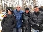 Сергей Азаров с супругой, Светлана Фед и Артур Толмасов (Израиль)