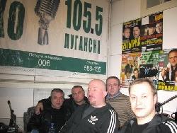 в студии радиостаниции