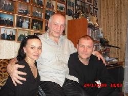 Д. Быковский в Музее шансона