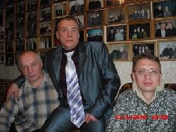 В.Чайка и В.Стрелковский в Музее