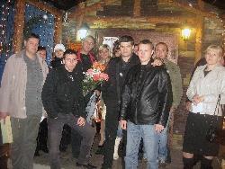 Олег Андрианов с друзьями