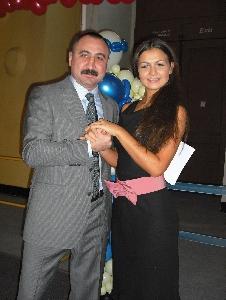 А.Лебзяк и Мисс С.Петербург-2009