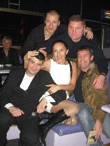 Афина и П. Ростов с друзьями
