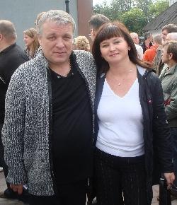 Оля Вольная и Александр Дюмин