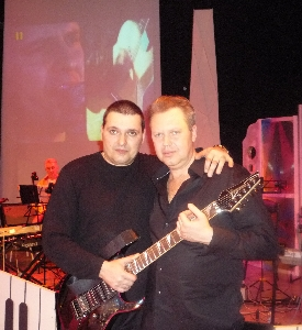 С. Князев и Александр Звинцов