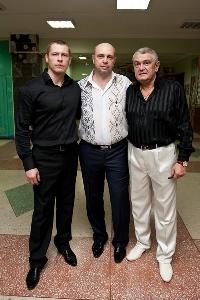 В. Волк, В. Соболь, В. Тимофеев