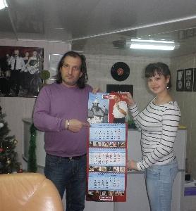 М. Винокуров и Марина Редкая