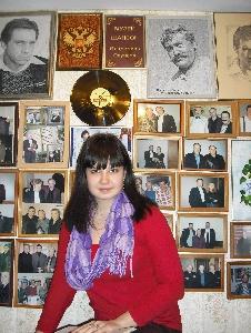 Марина Редкая в Музее шансона