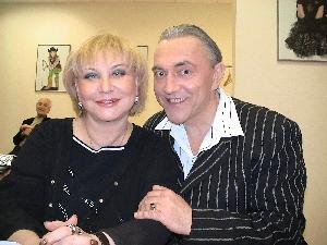 Ольга Павлова и Владимир Утёсов