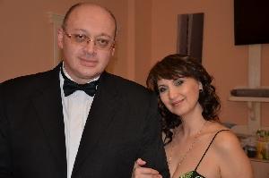 Александр Шапиро и Аня Воробей