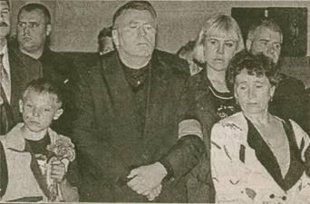 Владимир Жириновский не отходил от гроба