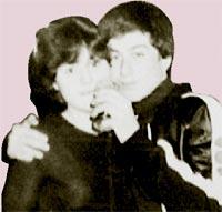 С мужем Игорем Павловым: во время путешествия в Лос-Анджелес