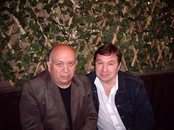 С Михаилом Шелегом