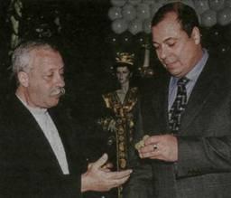 Сергей Михайлов и Якубович